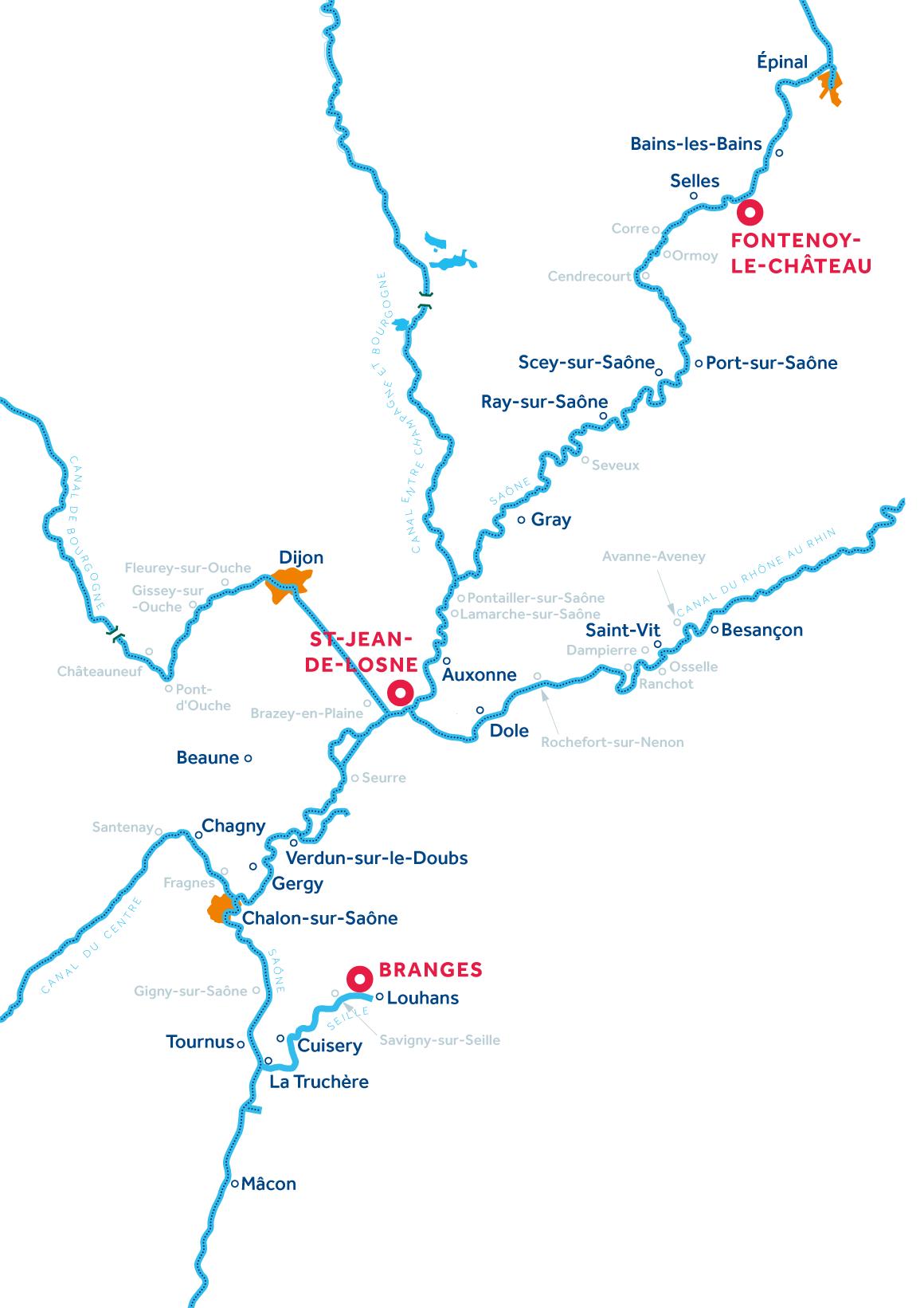 Burgundy FC Region Map