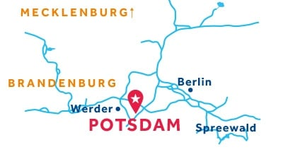 Potsdam base location map