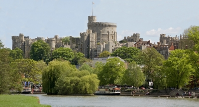 Windsor from the river Thames