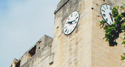Camargue clock tower