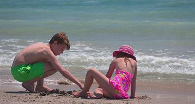 Camargue beach
