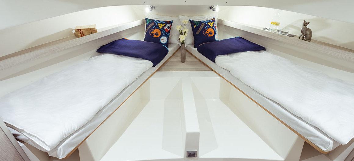 Horizon 1 - forward cabin