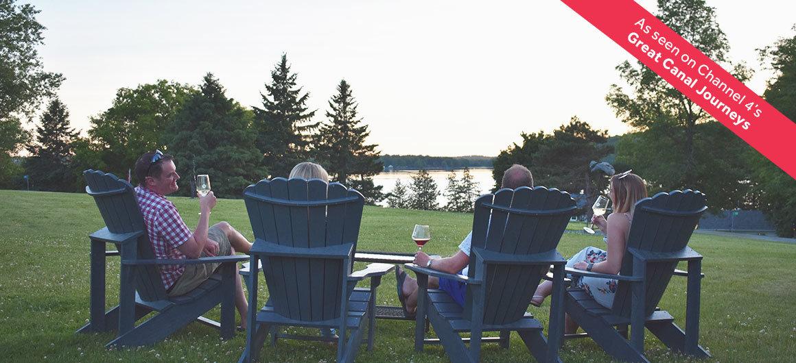 Wine tasting in Canada