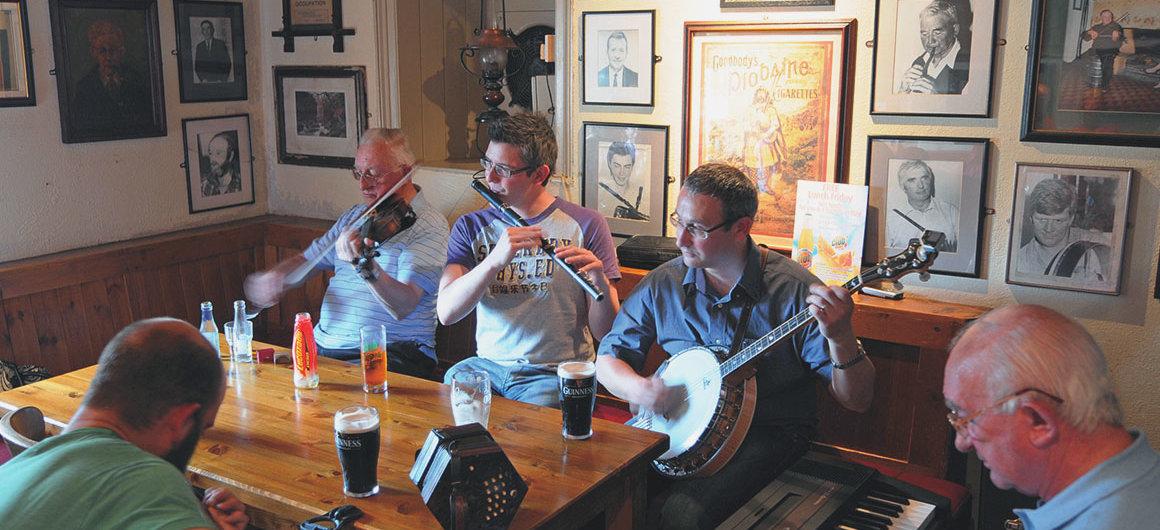 Larkin's Pub, Garrykennedy, Ireland