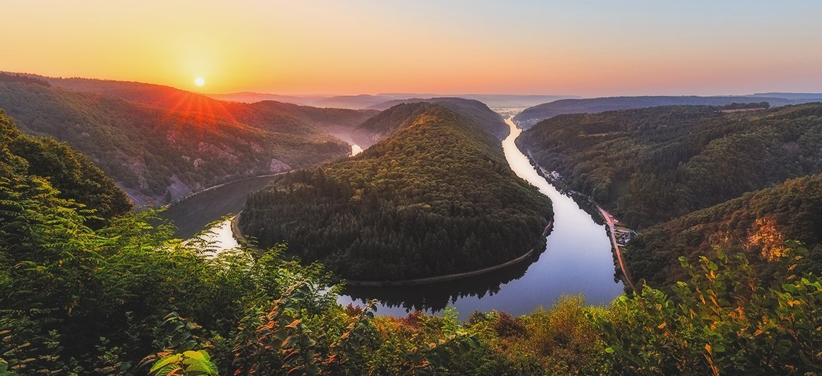 Meander of the Saar River
