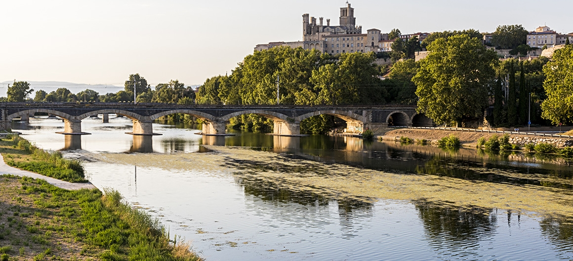 River in Beziers