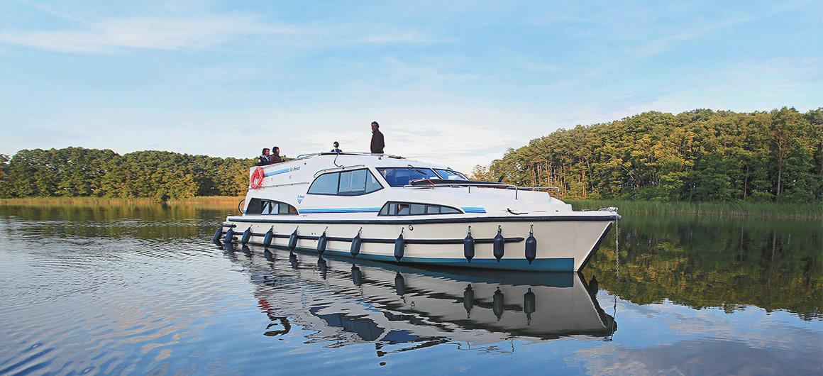 Royal Mystique boat on Lake Muritz, Germany