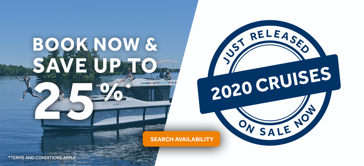 Book now for 2020 and save up to 25%