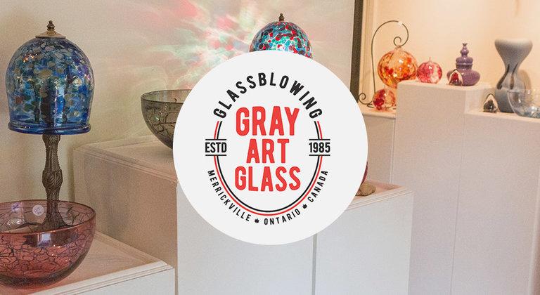Gray Art Glass