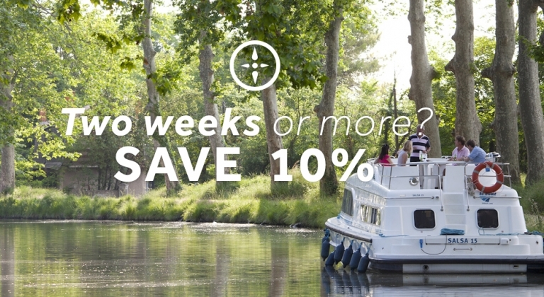 Le Boat - Save 10% on two weeks or more