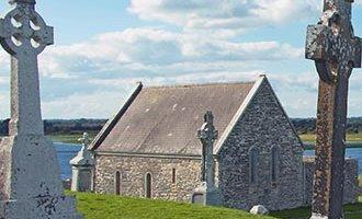 Pierres tombales de Clonmacnoise