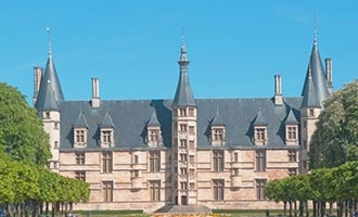 Palais Ducal in Nevers