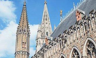 St Martins in Ieper Flanders